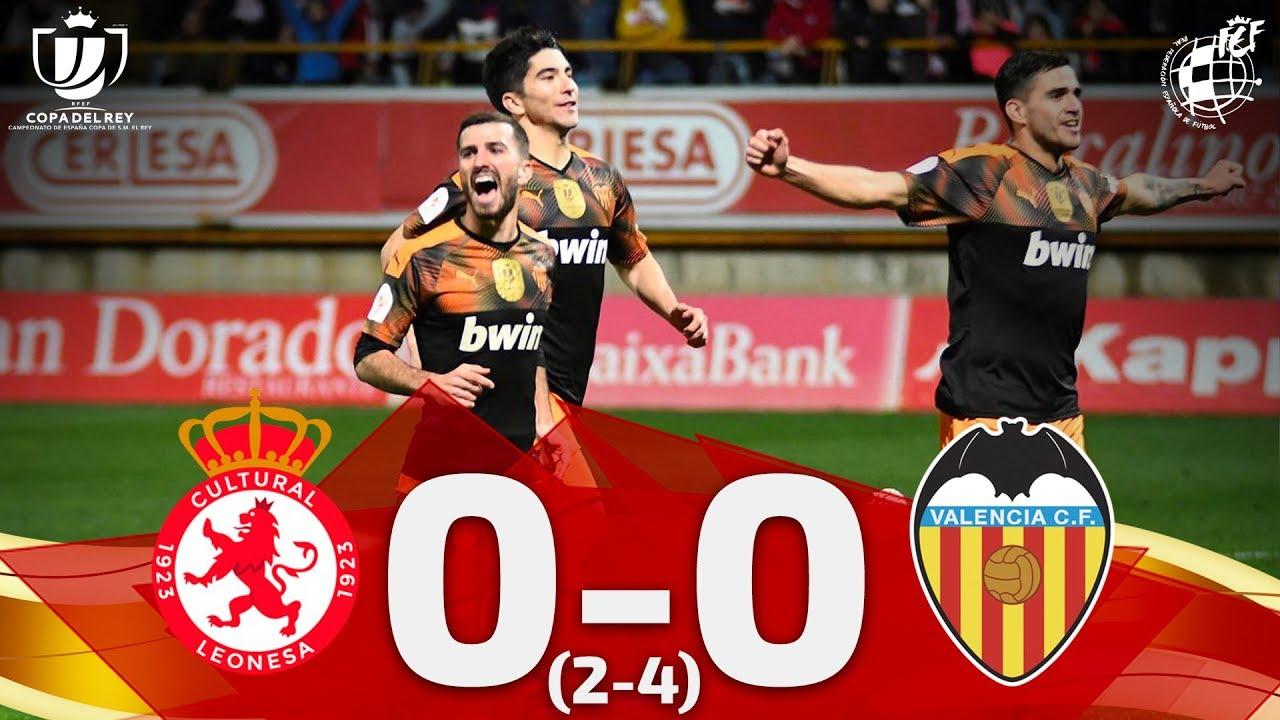 Copa del Rey | CyD LEONESA 0-0 (2-4) VALENCIA CF