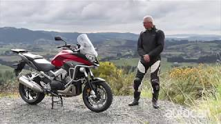 Видео Honda VFR800X Crossrunner review (автор: NZ Autocar)