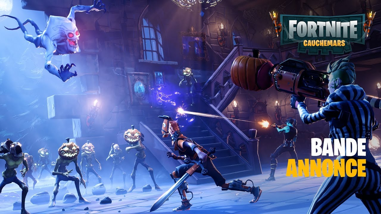 Fortnite Annonce De L 233 V 233 Nement Halloween Youtube