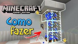⭐️Como fazer Chuveiro🚿 Super Realista Minecraft PE