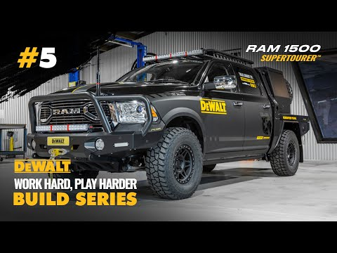 The BEST Looking RAM 1500 In Australia - DeWalt Build Series - EP. 5