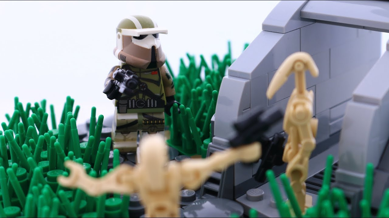 Lego Star Wars Infiltration The Clone Wars Moc Youtube