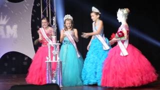The Crowning of The 2014-2015 National American Miss Jr. Pre-Teen!