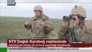 Азербайджан освобождает свои земли! Dağlık Karabağ cephesinde. Война в Карабахе.