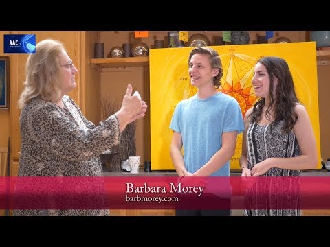 AAE Tv | Aura Colors And Their Meaning | Barbara Morey | 7.20.19