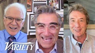 'Schitt's Creek' Cast and Comics Surprise Eugene Levy During His Lifetime Achievement Award