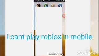 How fix This Roblox i cant play on mobile!