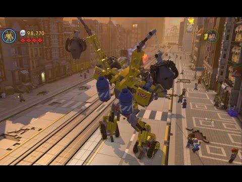 The LEGO Movie Videogame - Bricksburg Under Attack 100% Guide (Gold Instruction Pages/Pants)