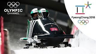 Cool Runnings - The Nigerian Sequel - Bobsleigh Heat 3 | Day 12 | Olympics 2018 | PyeongChang