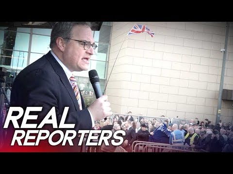 "Ezra Levant tells Tommy Robinson fans: ""YOU are the media!"""