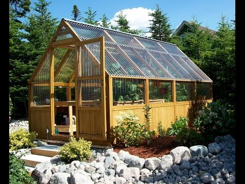 Greenhouse Kits from Greenhouse Plans: Watch us assemble a Sun Country Greenhouse