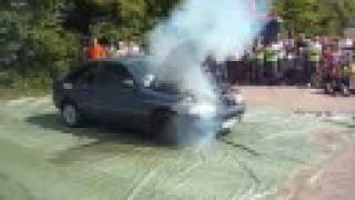 ford escort blown engine after 20 seconds with no oil fail