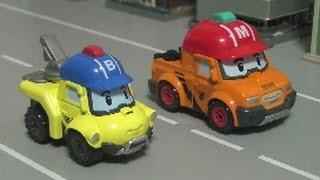 Robocar Poli Rescue Truck Toys 로보카폴리 장난감 구조트럭