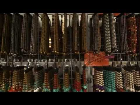 Necklaces and Bracelets and Beads at the Famous Bangkok Weekend Market!!