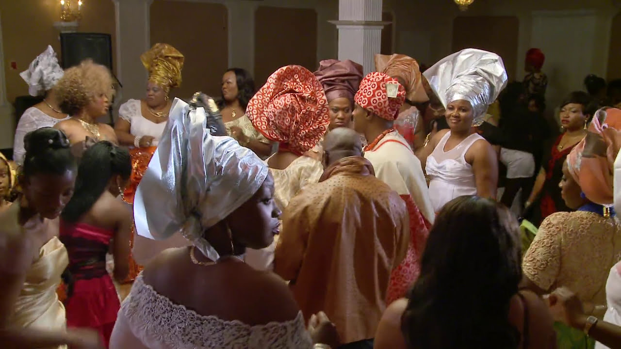 Beautiful Wedding Entrance And Money Dance With Nigerian Traditional Outfits Gta Photo Videography You