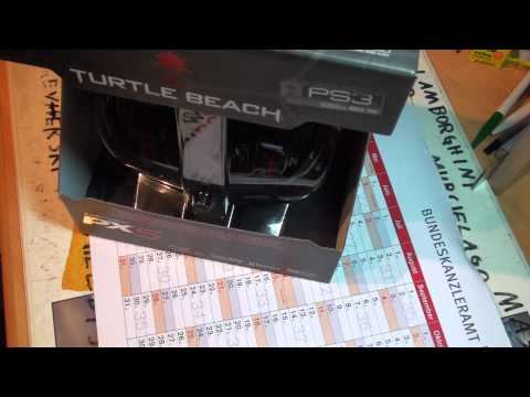 Turtle Beach Earforce PX5 Headset Part 1 German/Deutsch