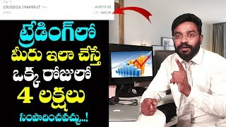 Trading Solutions | How to Get Success in Trade Marketing | Derivative Trading in Telugu | T World
