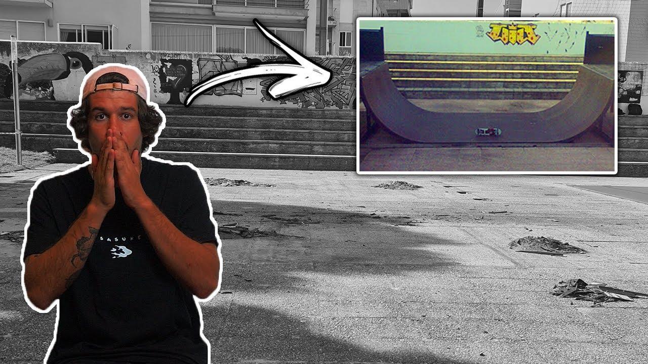Destruíram o meu Skate Park !!!