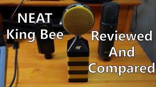 NEAT King Bee Mic Review, Compared to NT1, LCT440, X1S