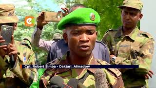 SAFU YA MASHAMBULIZI   Maisha ya wanajeshi wa AMISON Somalia