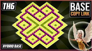 New BEST TH6 TROPHY/HYBRID[defense] Base 2018!! COC Town Hall 6 Hybrid Base Design - Clash of Clans