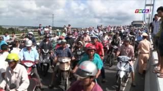 THVL   Tai nạn giao thông trên cầu Mỹ Thuận