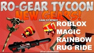 (ROBLOX) Awesome Rainbow Rug Ride