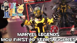 Marvel Legends MCU The First 10 Years Figures at New York Toy Fair 2018