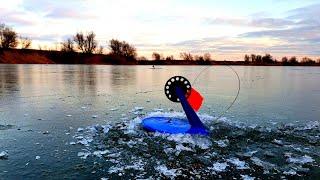 РЫБАЛКА НА ЖЕРЛИЦЫ НА ПРУДУ  зимняя рыбалка 2019