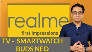 REALME TV  My First Impressions  GOOD AND BAD