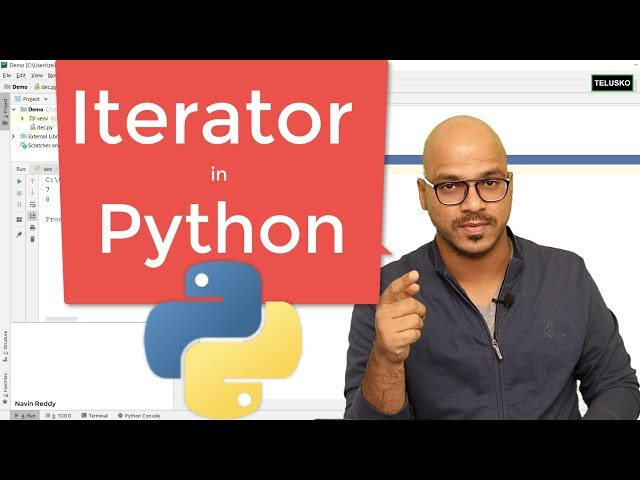 #61 Python Tutorial for Beginners | Iterator