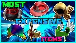 The MOST Expensive ROBLOX Items!