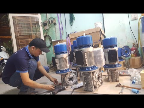 Motor thắng AC MGM-ITALY, hộp giảm tốc SITI- ITALY (0908674445)