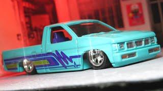 2020 Hot Wheels Car Culture Boulevard Custom 93 Nissan Hardbody