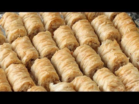 рецепт пахлава   Baklava rolls