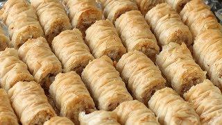 рецепт пахлава   Baklava rolls(Это самый простой и вкусный рецепт пахлавы из всех которые я пробовала рекомендую! Dovna Enterprises., 2014-02-14T16:12:32.000Z)