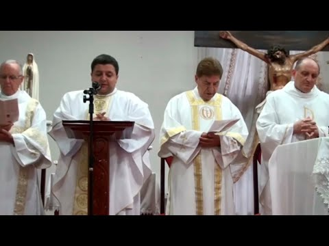 Missa 12 01 2020 Catedral Santo Antonio (Salão Paroquial) Frederico Westphalen.