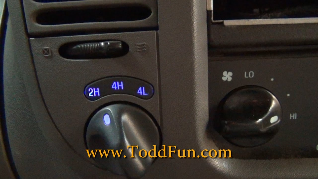 Led Dash Light Repair In Ford F 150 Pickuptruck Youtube