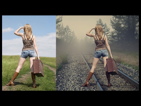 Photoshop Compositing Tutorial - Waiting