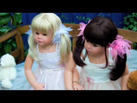 Big Reborn Girls From Marina Blue Nursery Youtube
