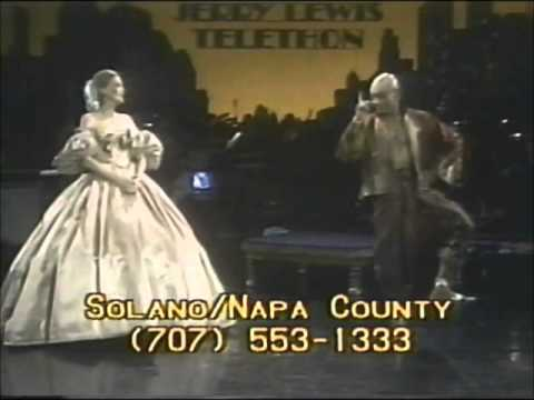 Yul Brynner & Constance Towers On The 1977 MDA Telethon