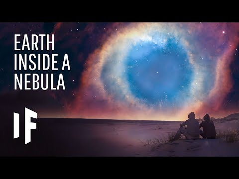 What If Earth Was Inside of a Nebula?