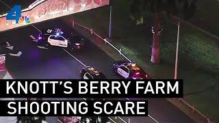 Knott's Berry Farm Shooting Scare
