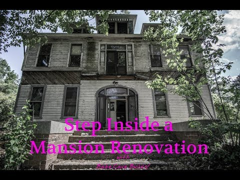 Rare Inside Tour of the Historic Coxe Mansion Renovation