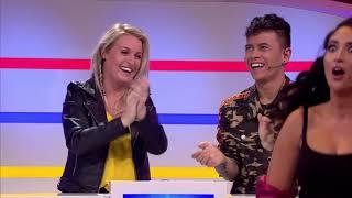 Soundos El Ahmadi en Esmee van Kampen strippen in Thank You for the Music