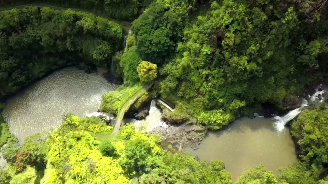 Drone Maui The Road To Hana Waterfalls Maui Hawaii Drone ...