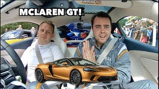 FIRST DRIVE IN THE NEW MCLAREN GT! *It's Amazing*