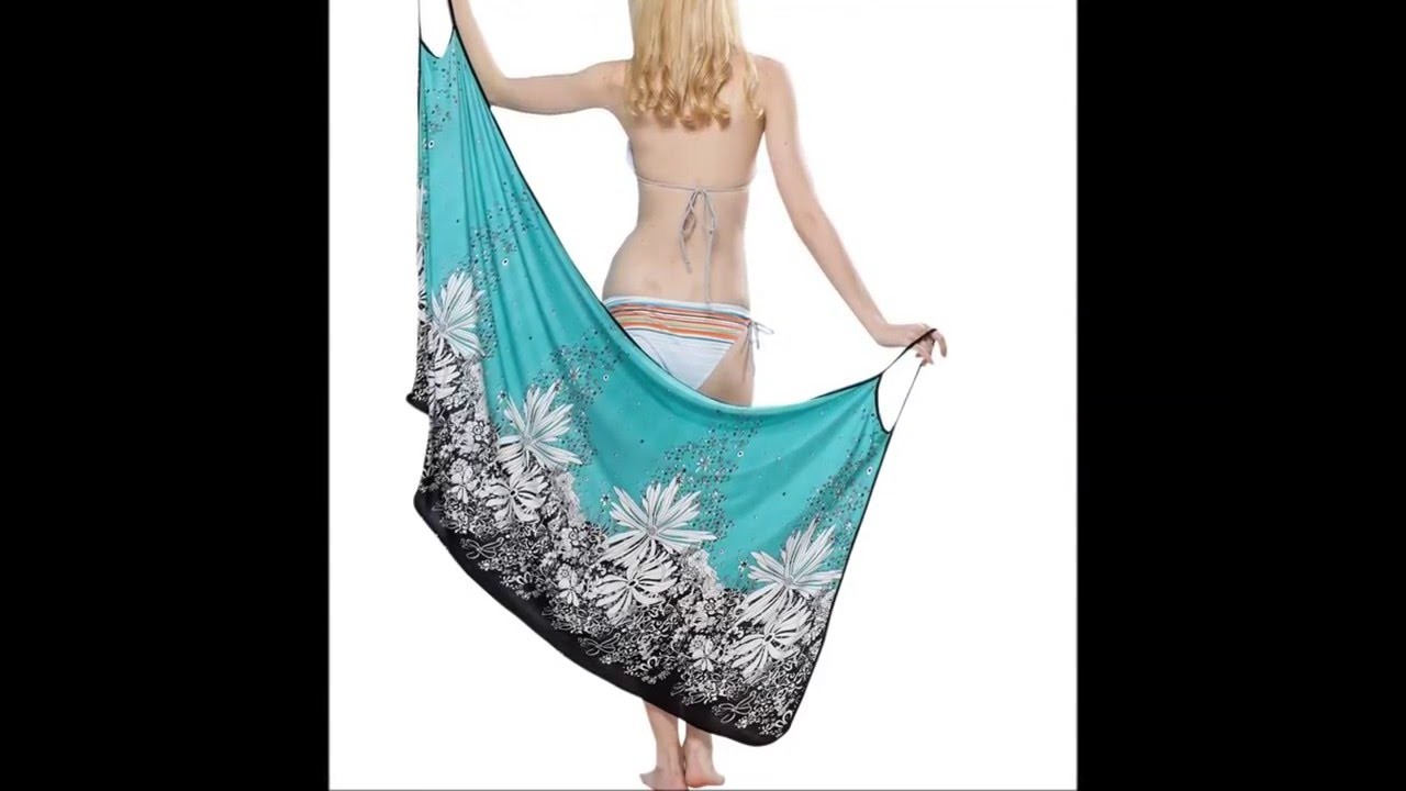 3d6c7cf700ced DIY Beach Cover up│Sarong │4 ELEMENTS - YouTube - YouTube