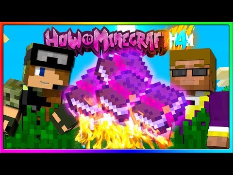 Minecraft - CUSTOM ENCHANTS ARE AWESOME! | Episode 80 of H4M (How to Minecraft Season 4)