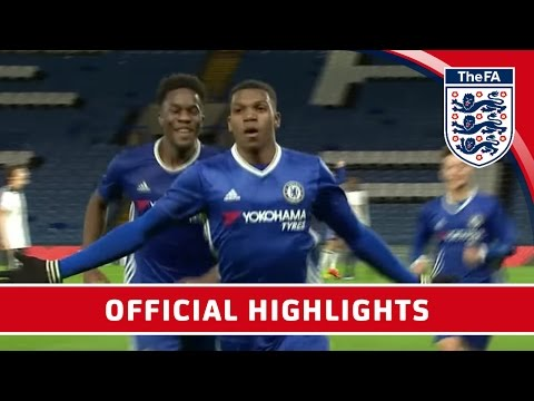 Chelsea 7-1 Tottenham Hotspur - 2016/17 FA Youth Cup semi-final Second Leg | Official Highlights